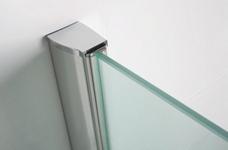 Wiesbaden inloopdouche 70x200 cm - 10mm NANO glas