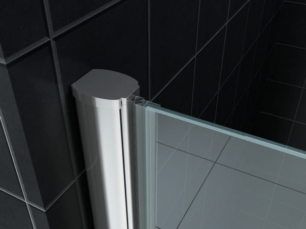 Wiesbaden nisdeur met profiel 60x202 cm 8 mm NANO glas