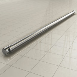 Stabilisatiestang 3-delig 100 cm chroom