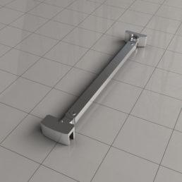 Angle stabilisatiestang 45 graden 40 cm omkeerbaar