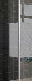 Wiesbaden zijwand + hoekprof 350x2000 10mm NANO ged.matglas