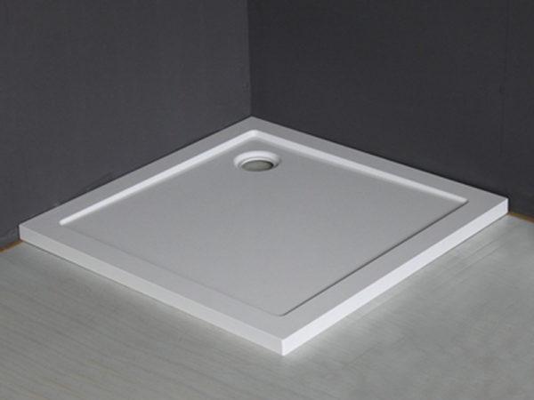 Mould SMC douchebak 90 x 90 x 4 cm vierkant wit
