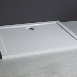 Mould SMC douchebak 120 x 90 x 4 cm rechthoek wit