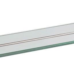 Brush glazen planchet RVS