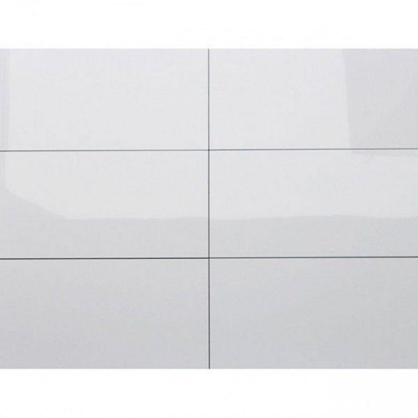 Kerabo wit glans gerectificeerd 30x60 wandtegels