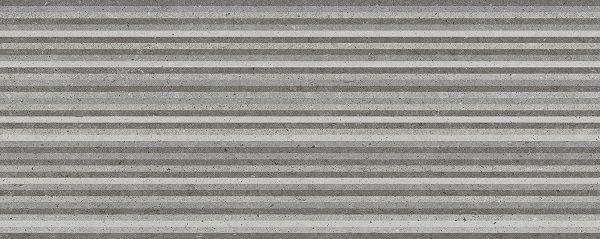 Metropoli Grey decor Slot 20x50 wandtegels