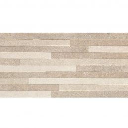Pierre Taupe Decor 30x60 rett wandtegels