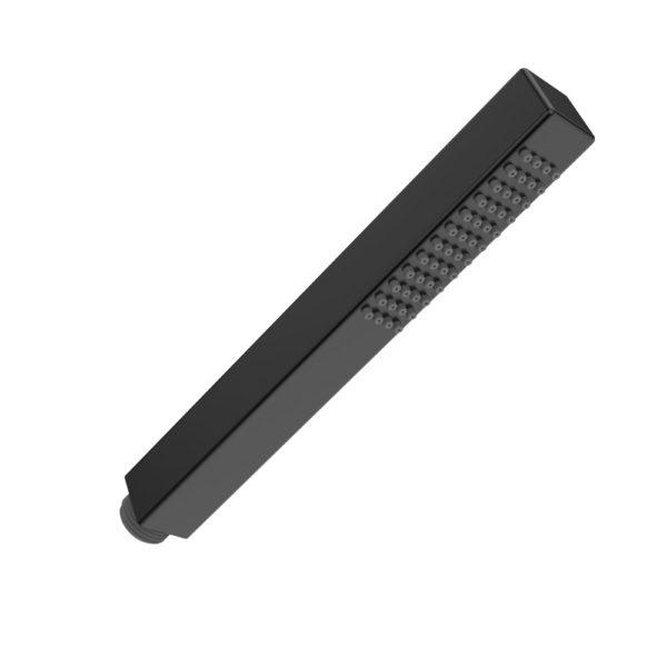 Wiesbaden mat- zwart messing handdouche vierkant 1/2''