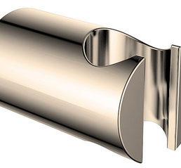 Wiesbaden luxe vaste handdouchehouder mess.geborsteld staal