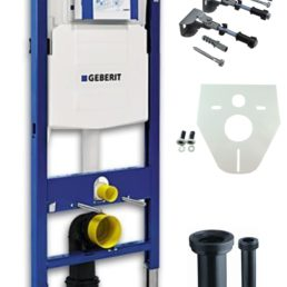 Wiesbaden Geberit Duofix UP-320 inb.reservoir,bev.set, iso.set