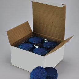 Wiesbaden set à 12 stuks toiletblokjes blauw tbv Geberit