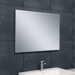 Wiesbaden Tigris spiegel aluminium lijst 80x60cm