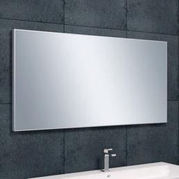 Edge spiegel met aluminium lijst 120 x 60 cm