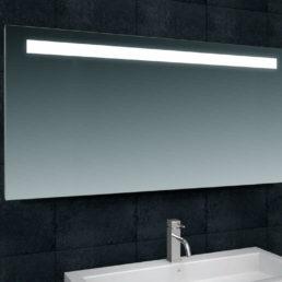 Line spiegel met LED verlichting 140 x 80 cm