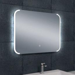 Bracket spiegel met LED verlichting & verwarming 80 x 60 cm