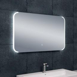 Bracket spiegel met LED verlichting & verwarming 100 x 60 cm
