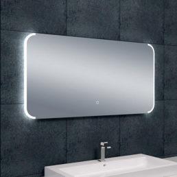 Bracket spiegel met LED verlichting & verwarming 120 x 60 cm