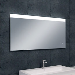 Wiesbaden Single dimbare LED condensvrije spiegel 120x60cm