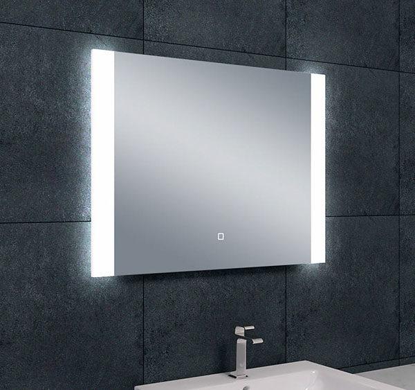 Wiesbaden Sunny dimbare LED condensvrije spiegel 80x60cm