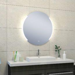 Round spiegel met LED verlichting 80 cm