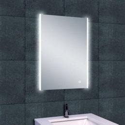 Duo spiegel met LED verlichting & verwarming 50 x 70 cm