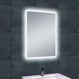 Quatro spiegel met LED verlichting &amp