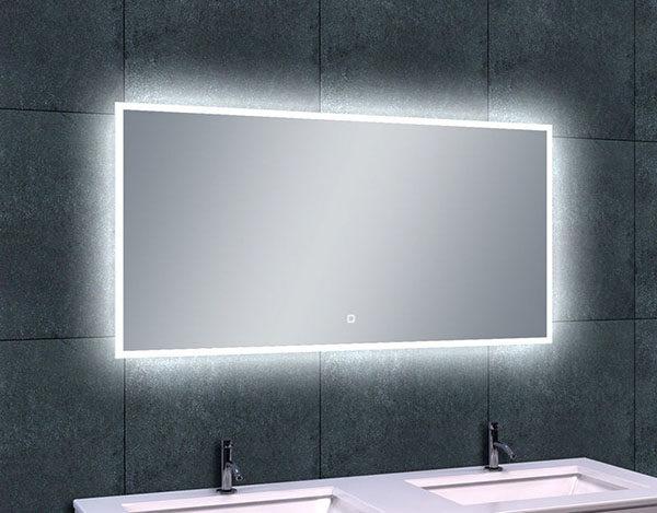 Wiesbaden Quatro-Led dimbare condensvrije spiegel 120x60cm