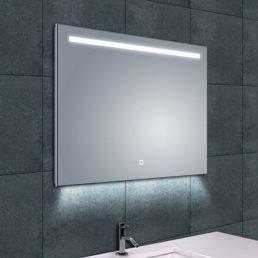 Ambi One spiegel met LED verlichting & verwarming 80 x 60 cm