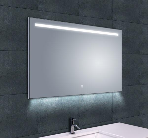 Wiesbaden Ambi One dimbare Led condensvrije spiegel 100x60cm