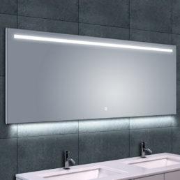 Ambi One spiegel met LED verlichting & verwarming 160 x 60 cm