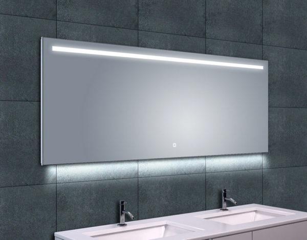 Wiesbaden Ambi One dimbare Led condensvrije spiegel 160x60cm