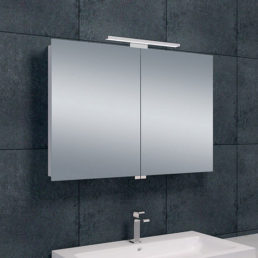 Bright spiegelkast met LED verlichting 90 x 60 cm