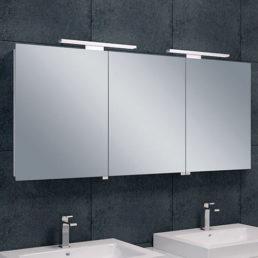 Bright spiegelkast met LED verlichting 140 x 60 cm
