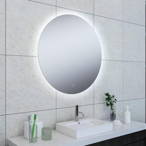 Wiesbaden Soul spiegel + Led rond 80cm