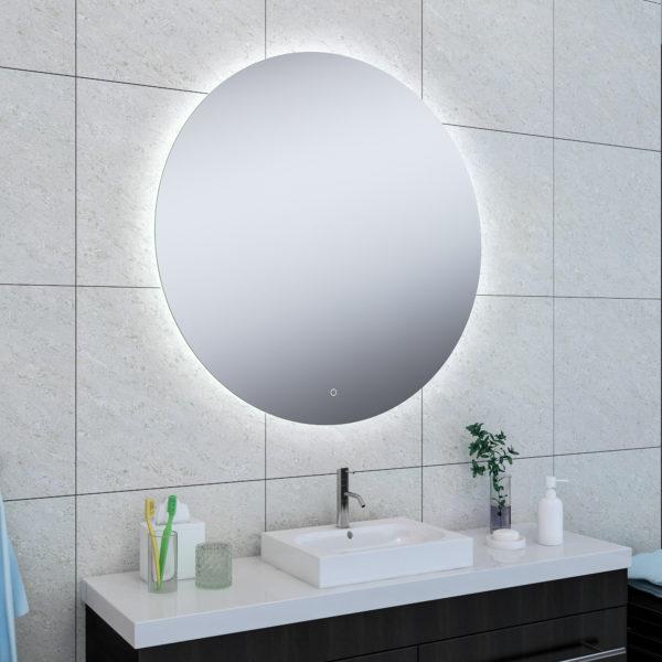 Wiesbaden Soul spiegel + Led rond 100cm
