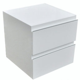Modul onderkast 45 x 45 cm hoogglans wit
