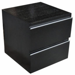 Modul onderkast 45 x 45 cm houtnerf zwart