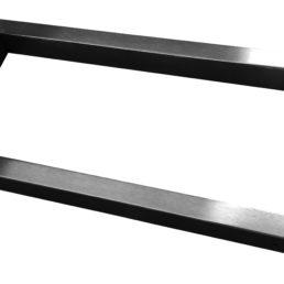 Modul support beugel 46 x 22 cm vierkant RVS (look)