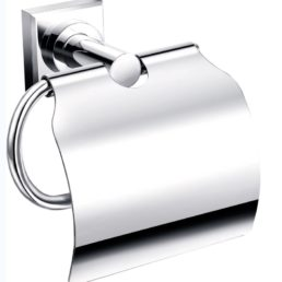 Best Design Vieratoiletrolhouder met klep