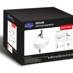 Best Design One Pack fonteincombinatie Moon