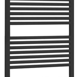 Antraciet Zero radiator recht model 120 x 60 cm