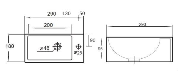 Best Design One Pack fonteincombinatie Wonder Rechts