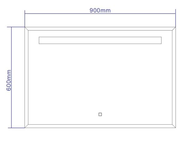 Best Design Miracle LED spiegel 90 cm