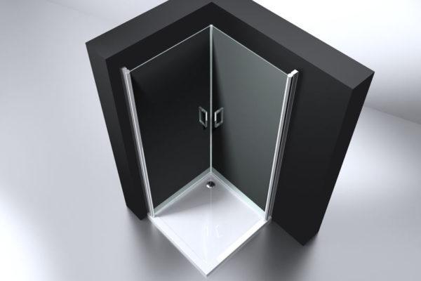 Best Design Erico vierkante cabine met 2 deuren 100 x 100 cm 6 mm Nano