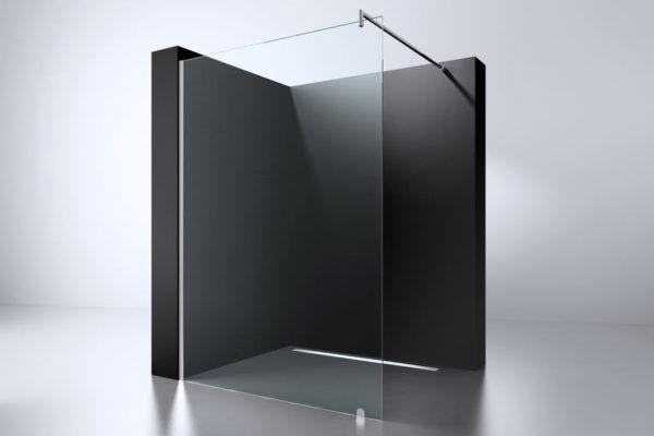 Best Design Erico 1200 inloopdouchewand 115-117 cm - 8mm NANO glas