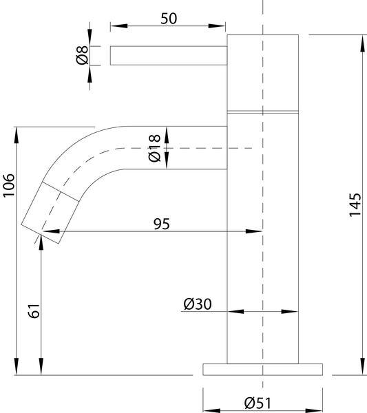 Best Design Aquapro toiletkraan