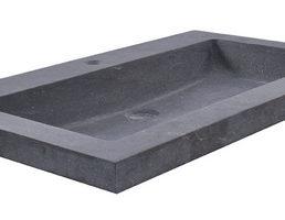 B-stone wastafel 60 x 46 cm