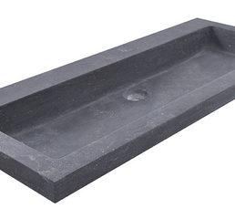 B-stone wastafel 100 x 46 cm zonder kraangat