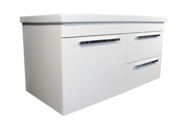 Best Design Surf onderkast + wastafel 120cm glans-wit