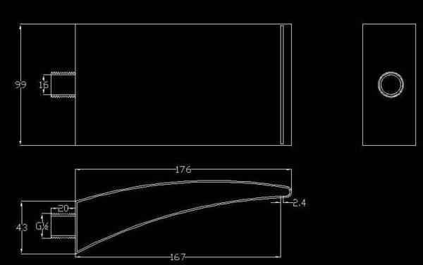 Best Design Rofo waterval muuruitloop